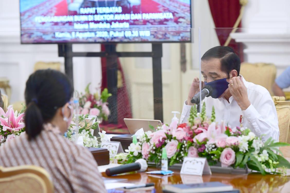 Photo of Presiden Jokowi: Inilah Momentum Transformasi Sektor Pariwisata dan Penerbangan