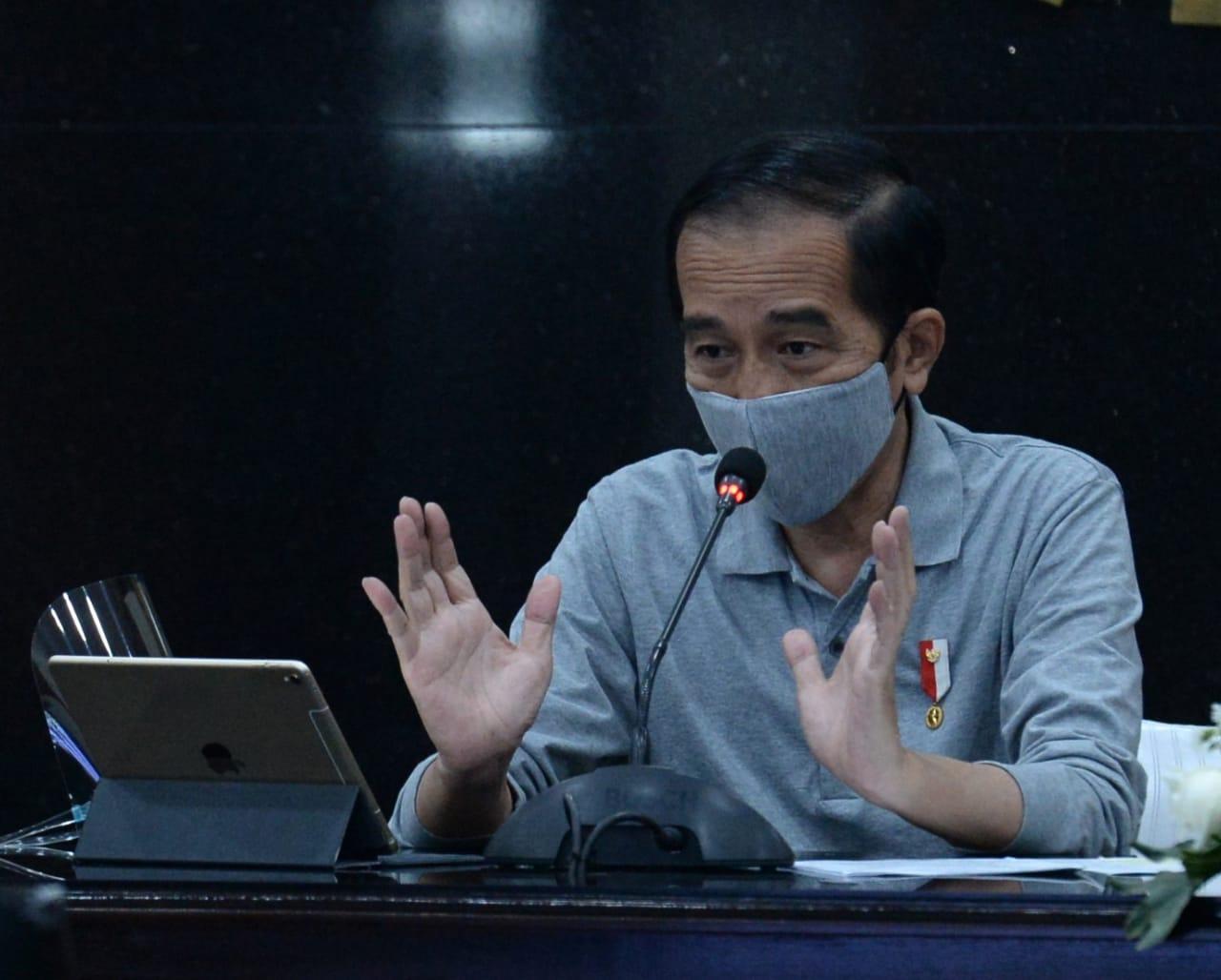 Photo of Jokowi Tekankan Pentingnya Strategi Intervensi Lokal dan Penggunaan Masker