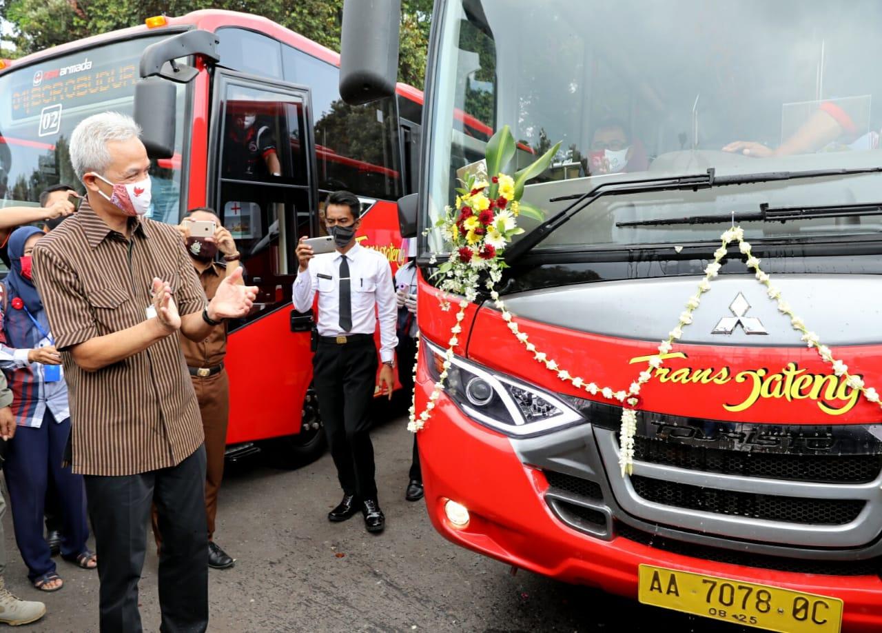 Photo of Setelah Purwomanggung, Ganjar Akan Luncurkan Tiga Koridor Trans Jateng