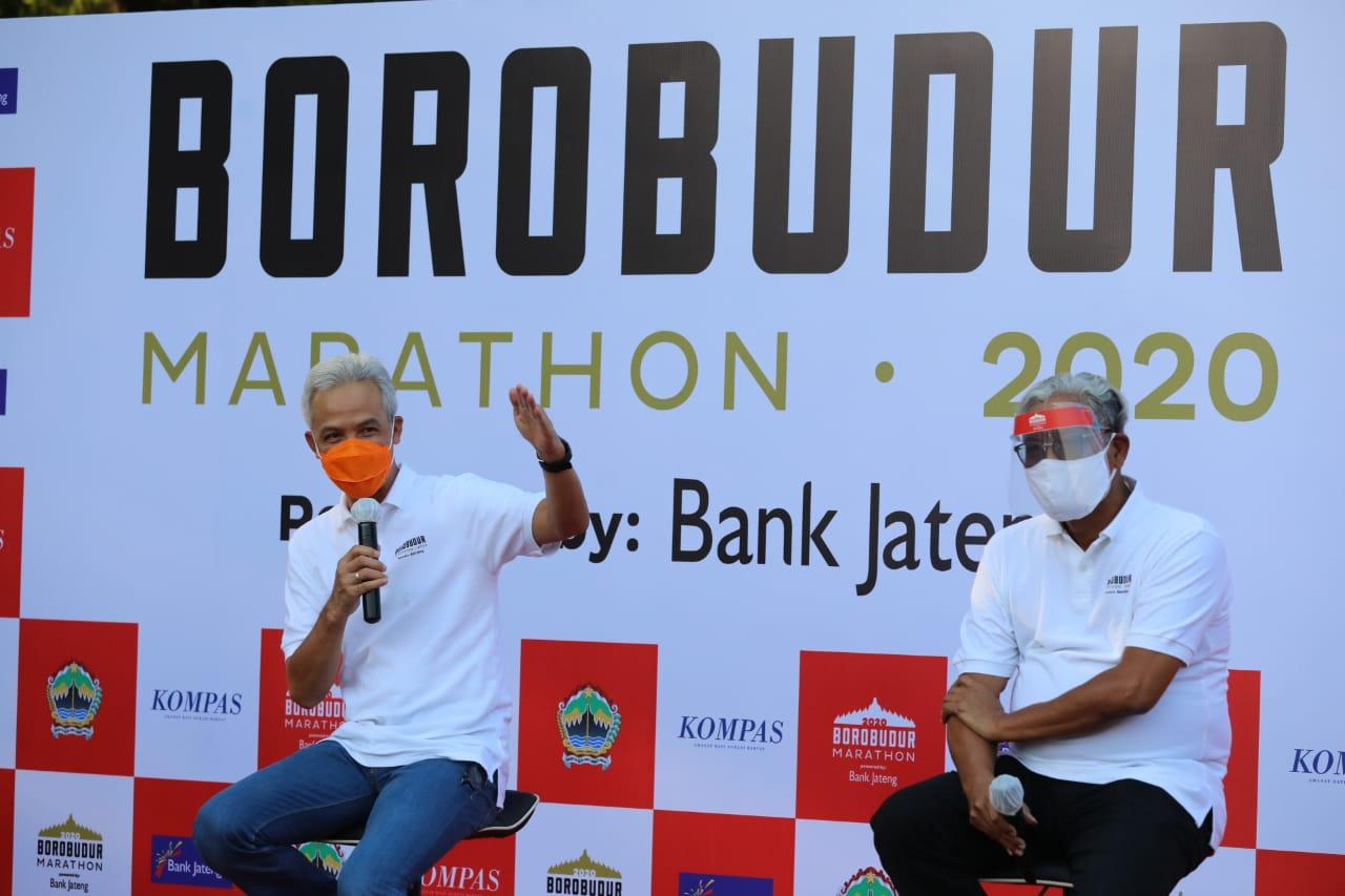Photo of Ganjar Tetap Gelar Borobudur Marathon 2020