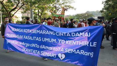 Photo of Aksi Warga Semarang Menolak Demo Anarki
