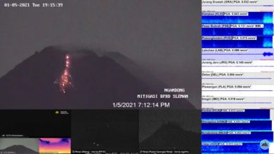 Photo of Gunung Merapi kembali Keluarkan Lava Pijar Sejauh 150 Meter Mengarah Ke Barat Selasa Malam