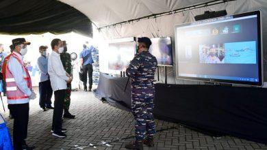 Photo of Presiden Datangi Posko Darurat Evakuasi Pesawat Sriwijaya Air SJ 182