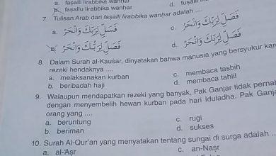 Photo of Ganjar Digambarkan Tidak Pernah Bersyukur, Saat Idul Adha Tidak Pernah Berkurban dan Tidak Pernah Salat Di Sebuah Buku Pendidikan Agama Islam Dan Budi Pekerti