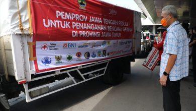 Photo of Ganjar Kirim Bantuan Logistik Rp594 Juta Untuk Penanganan Gempa Jatim