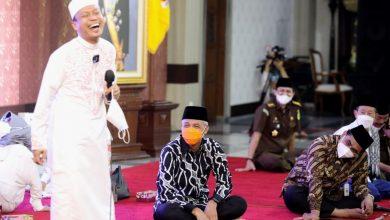Photo of Mendengar Ceramah Ustad Das'ad Latif, Ganjar ; Saya Nangis Karena Lucu Mengena Sekali