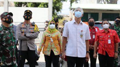 Photo of Masuk Kategori Zona Merah, Ganjar Sidak Penanganan Covid-19 Kabupaten Semarang