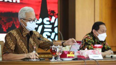 Photo of Ganjar Usulkan Pemerintah Pusat Serahkan Pertanggungjawaban Vaksinasi Pada Gubernur