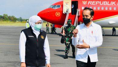 Photo of Naik Pesawat Kepresidenan Merah Putih, Jokowi Kunker ke Jawa Timur