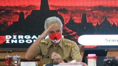 Photo of Kasus Covid-19 Membaik, Ganjar Sampaikan Terima Kasih kepada Kabupaten/Kota