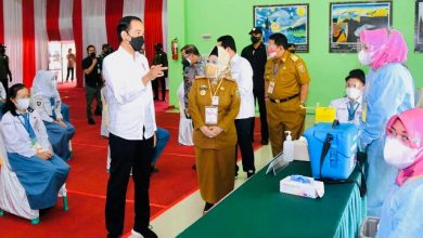 Photo of Jokowi Tinjau Vaksinasi Covid-19 bagi Masyarakat di Provinsi Lampung
