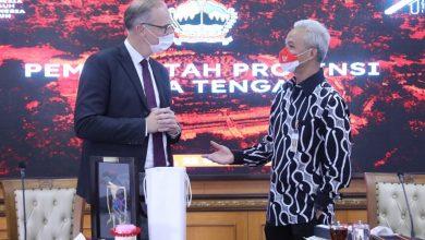 Photo of Temui Ganjar, Dubes Denmark akan Tingkatkan Investasi ke Berbagai Sektor di Jateng