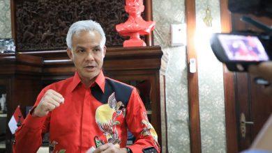 Photo of Peresmian Patung Soekarno Polder Tawang, Ganjar ; Patung Ini Simbol Semangat Anak Muda