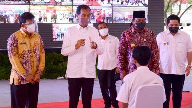 Photo of Jokowi Minta Percepatan Vaksinasi di Kalimantan Selatan